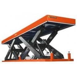 Table élévatrice ciseaux en tandem 6000 Kg