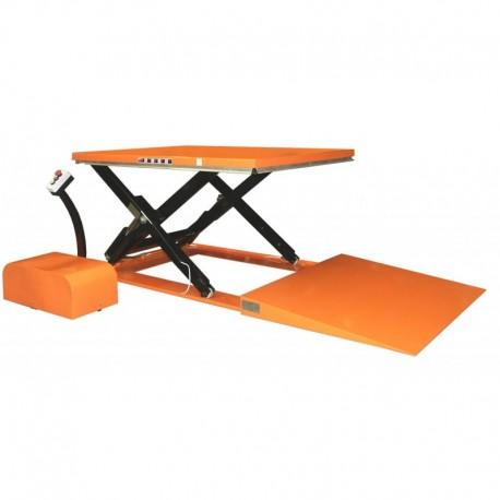 Table élévatrice extra plate 1500 Kg